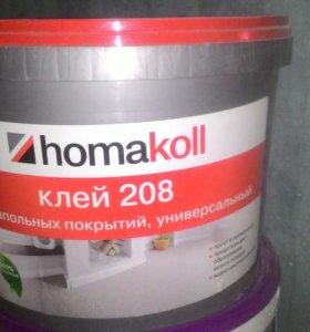 Клей для напольных покрытий Homakoll 208