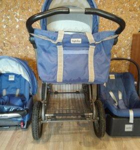 Детская коляска 3в1 Inglesina Otutto на шасси Ergo