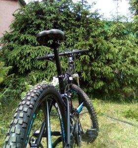 Новый складной спортивный велосипед на дисках