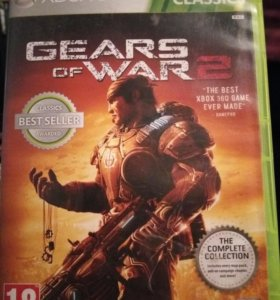 Диск на XBOX360 Gears of war 2