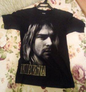 Продам футболку Nirvana