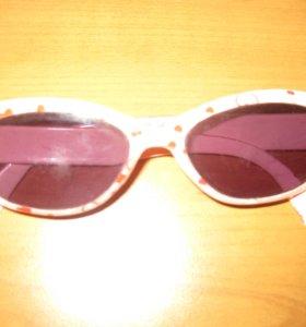 Красивые очки для девочки 4-5 лет.