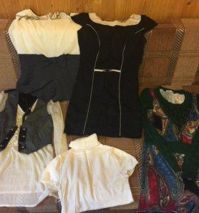 Пакет женской одежды 40-42 размер