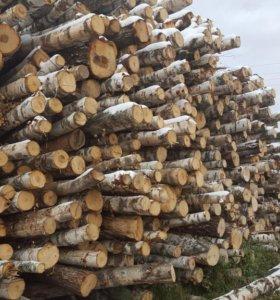 дрова березовые колотые