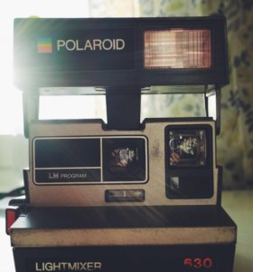 Polaroid 630 Lightmixer