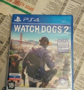 Watch dogs 2. На PS4.