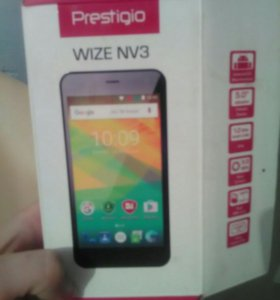 Телефон Prestigio Wize NV3 PSP3537DUO Orange