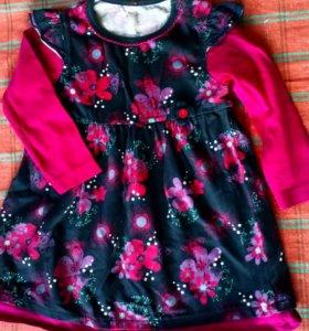 Платье на 1-1,5года