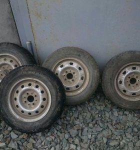 Комплект 4шт колеса