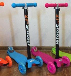 Детские самокаты Скутер - Scooter maxi 21 st