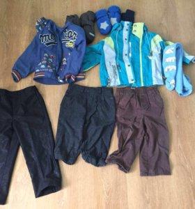 Пакет вещей для мальчика 2-3 года