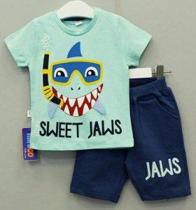 Летний детские костюмы для мальчиков.