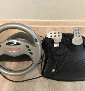 Руль Genius Speed Wheel 3 Vibration