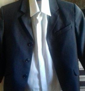 Школьный костюм с брюками 1-2 класс