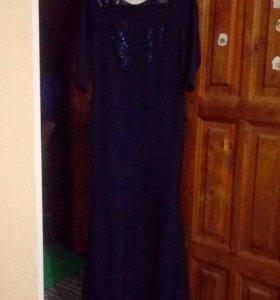 Вечернее шикарное платье,44-46размер,модель рыбка
