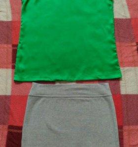 Новые топ и юбка