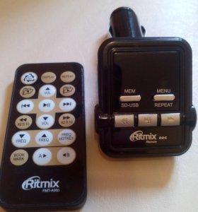 Автомобильный FM-модулятор Ritmix FMT-A951