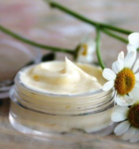 Домашний крем для лица с ромашкой и эдельвейсом