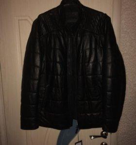 Куртка мужская кожаная (новая)