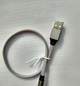 Usb кабель для iphone 5-8 новый