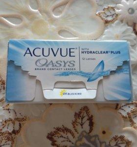 Линзы Acuvue oasys -2,25
