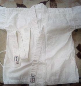 Кимоно с поясом для карате (детский)