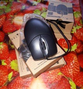 Мышь проводная Oklick 105M черный