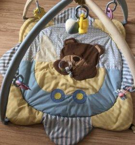 Детские вещи пакетом+развивающий коврик