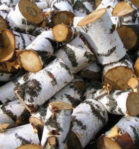 дрова берёзовые,дрова в сетках
