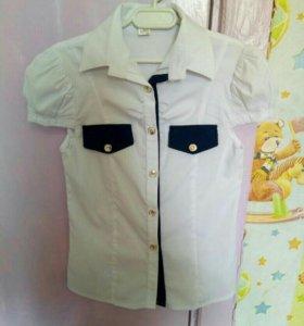 Рубашка для девочек с коротким рукавом 36 р.
