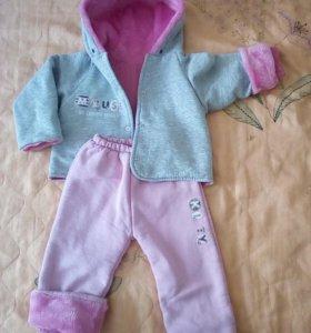Детский костюм утеплённый
