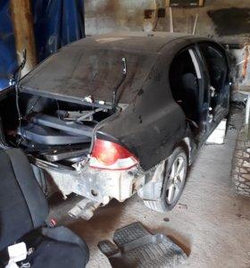 Разбор Honda Civic 4D вся подвеска