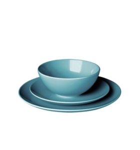 Набор посуды IKEA новый