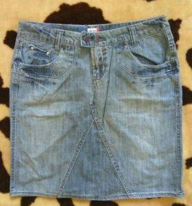 Новая джинсовая юбка, 48-50.