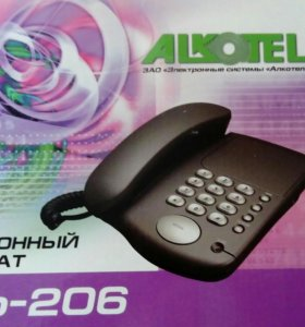 Стационарный телефон Alkotel TAp-206