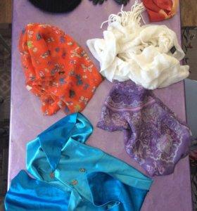 Шапка и шарфы