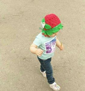Летняя шапочка на ребенка