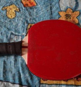 Новая ракетка с новыми накладками Kokutaku 868