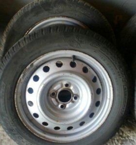 Колеса от рено Логан