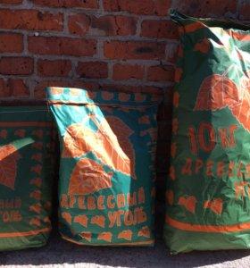 Уголь древесный 3 5 10 кг
