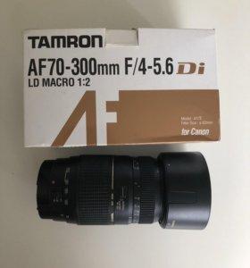 Объектив Tamron AF70-300mm F/4-5,6 Di LD Macro 1:2