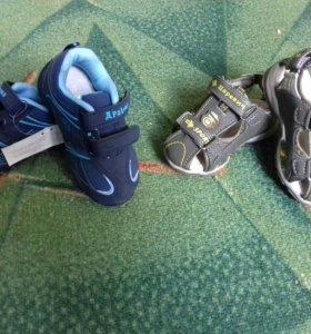 Новые Кроссовки и сандали