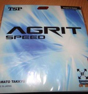 Новая Суперскоростная накладка TSP agrit speed