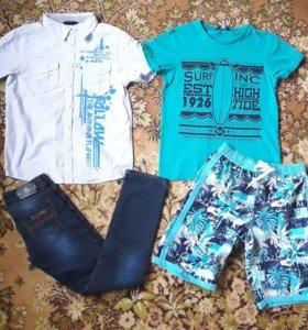Пакет одежды на мальчика 10-11 лет