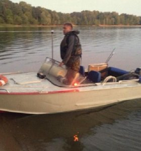 Лодка Прогресс 2М+ мотор 40 + прицеп