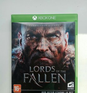 Lord of the fallen на xbox one