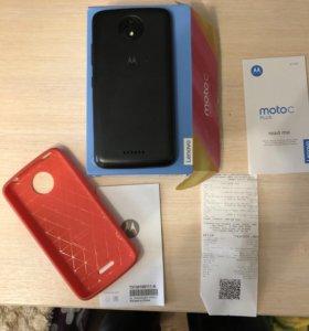 Motorola C Plus 16Gb+супер чехол