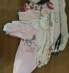 Одежда для малышки 56-62р.