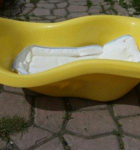 Ванна для купания с матрасом.