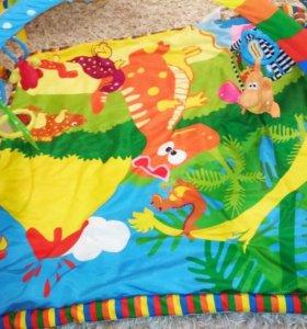 Развивающий коврик для малышки